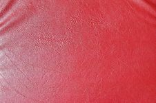 Free Red Leather Texture Stock Images - 33765674