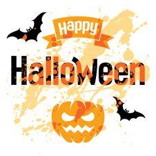 Halloween Vector Stock Photo