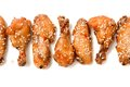 Free Set Of Fried Chicken Legs Royalty Free Stock Photo - 33773535