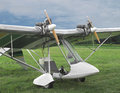 Free Twin Engine Ultralight Aircraft. Stock Images - 33774964