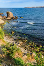 Free Sea coast And Island On The Oppesite Side Of Sea Stock Images - 33777254