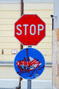 Free Traffic Sings. Stop. Direction. Stock Photography - 33779942