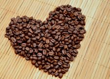 Free Coffee Heart Royalty Free Stock Photography - 33776587