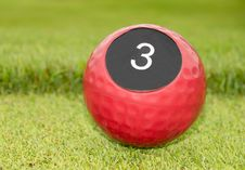 Free Number Of Hole In Golf Royalty Free Stock Images - 33785039