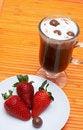 Free Closeup Of Coffee With Cream Royalty Free Stock Photos - 3381878