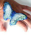 Free Butterfly In Hand Stock Image - 3389011
