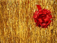 Free Christmas - Red Flower Stock Image - 3380011