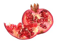 Free Red Ripe Pomegranate Stock Photo - 3380060