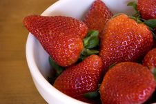 Free Fresh Strawberries Stock Images - 3380854