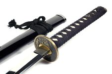 Free Katana - Japanese Sword (7) Royalty Free Stock Image - 3381176