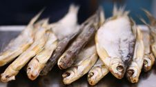 Free Salted Dried Fish Royalty Free Stock Images - 3381429