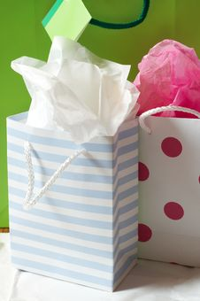 Free Three Gift Bags Stock Photo - 3381710