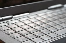 Free Close-up Of A Keyboard Royalty Free Stock Photos - 3381728