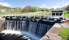 Free Caledonian Canal Stock Image - 3382161