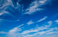 Free Fleecy Clouds Stock Photo - 3382210