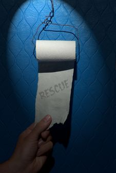 Free Toilet Paper Stock Images - 3382224