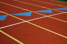 Free Running Track Stock Image - 3382621