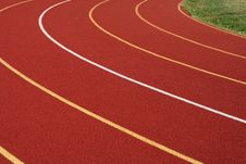 Free Running Track Royalty Free Stock Photography - 3382657