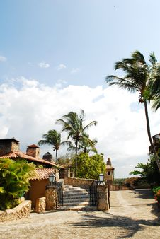 Free Views Of Altos De Chavon Stock Images - 3382914