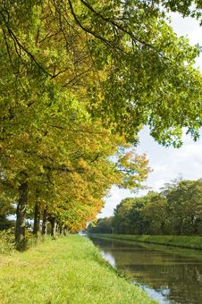 Autumn Colors River Royalty Free Stock Image