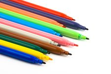 Free Fibre Pens Royalty Free Stock Images - 3383209