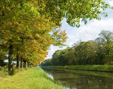 Autumn Colors River Royalty Free Stock Photography