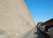 Free Wall Of The Forbidden City Royalty Free Stock Images - 3383949