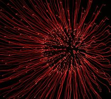 Free Red Fireworks Time Lapse Royalty Free Stock Image - 3384946