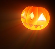 Free Halloween Pumpkin Stock Image - 3385461