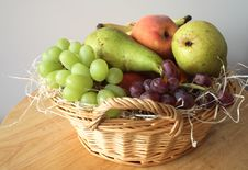 Free Fresh Fruit Basket Stock Photos - 3385613