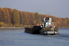 Barge Royalty Free Stock Photos