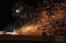 Free Sprayed Sparks Stock Photo - 3387070