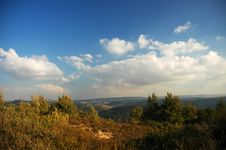 Free Israeli Autumn Landscape Stock Image - 3387091