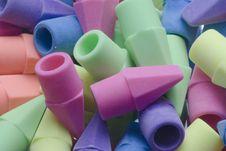 Free Erasers Stock Image - 3388171