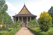 Free Vientiane Temple Stock Photo - 3388200