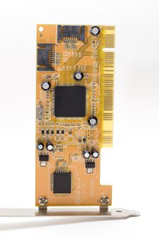 Free Circuit Board Royalty Free Stock Images - 3388359