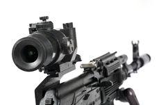 Free Machine Gun Kalashnikov Stock Images - 3389044