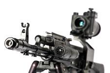 Free Machine Gun Kalashnikov Royalty Free Stock Photography - 3389057