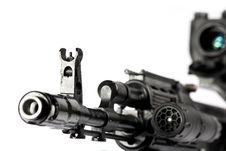 Free Machine Gun Kalashnikov Royalty Free Stock Photos - 3389058