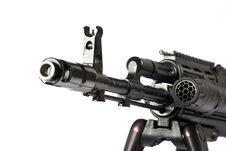 Free Machine Gun Kalashnikov Stock Photos - 3389063