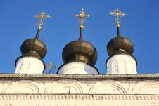 Free Cupolas And Crosses Stock Photography - 3389392