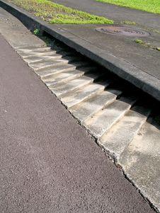 Free Drainage Steps Stock Image - 3389521