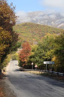 Free Road To Demerdgy Mountain Stock Images - 33808774
