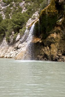 Cascade, Gorges De Verdon, France