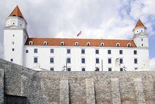 Free Bratislava Castle Stock Images - 33810804