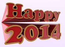 Free New Year 2014 Stock Photos - 33818953