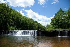 Free Rockbridge Mill Dam Royalty Free Stock Images - 33819529