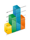 Free 3D Financial Graph Royalty Free Stock Image - 33826756