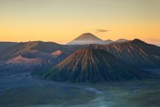 Bromo Volcano Mountain Royalty Free Stock Images