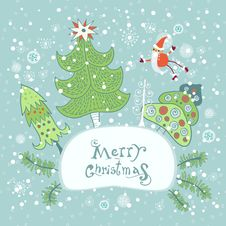 Free Christmas And New Year Greeting Card Stock Images - 33826164